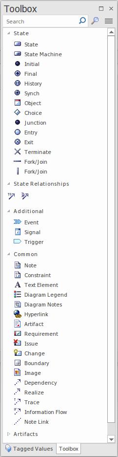 Diagram Toolbox Enterprise Architect User Guide