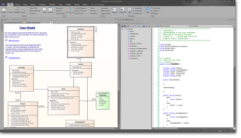 Enterprise Architect: Debugging, Compiling and Visualizing Executing Code
