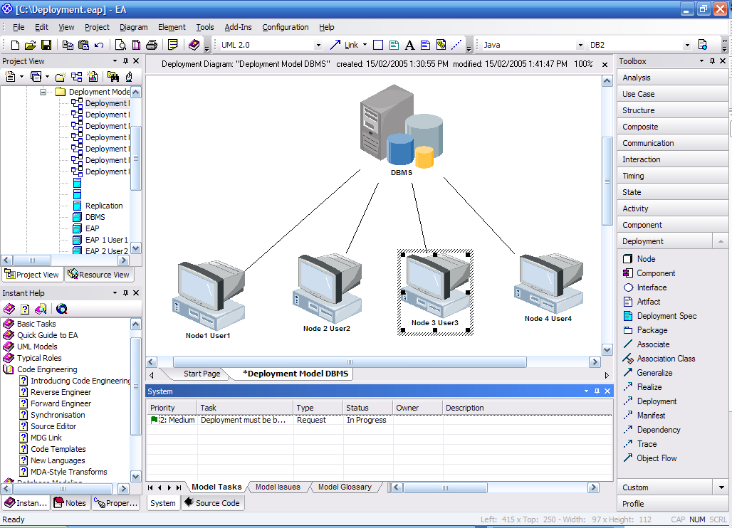 What is uml the unified modeling language uml is a graphical the unified modeling languages deployment diagrams ccuart Gallery