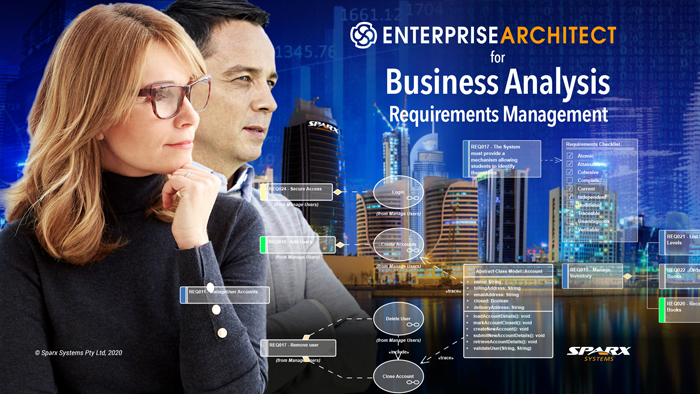 Enterprise Architect for Business Analysis - Manage Requirement Changes